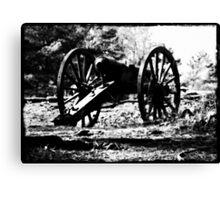 Civil War Cannon, Kennesaw Battlefield, Marietta, Ga. Canvas Print