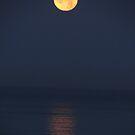Yellow-Red Moon - Luna Amarilla-Roja by Bernhard Matejka