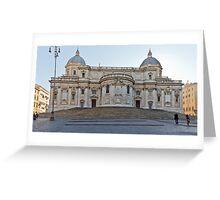 Basilica di Santa Maria Maggiore Greeting Card