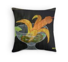 COCKtail erotic drink Throw Pillow