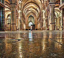 St Thomas Candle, Canterbury Cathedral by Dave Godden