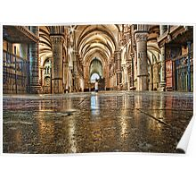 St Thomas Candle, Canterbury Cathedral Poster