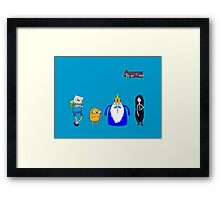 Weezer/Adventure Time Crossover Framed Print