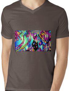 Triangle Visions Mens V-Neck T-Shirt
