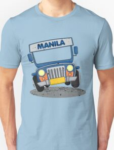 Philippine Jeepney cartoon prints T-Shirt