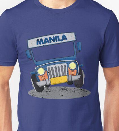 Philippine Jeepney cartoon Unisex T-Shirt