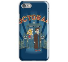 Doctorama Presents! iPhone Case/Skin