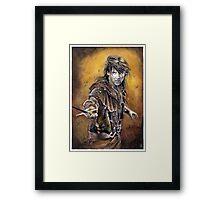 Robin of Sherwood Framed Print