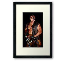 Chainsaw Massacre Framed Print