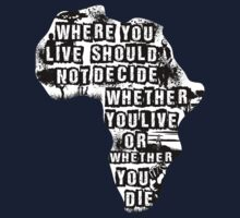 Where You Live - Africa (white) Kids Clothes