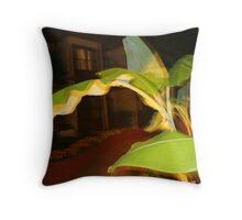 Exotic plant Throw Pillow