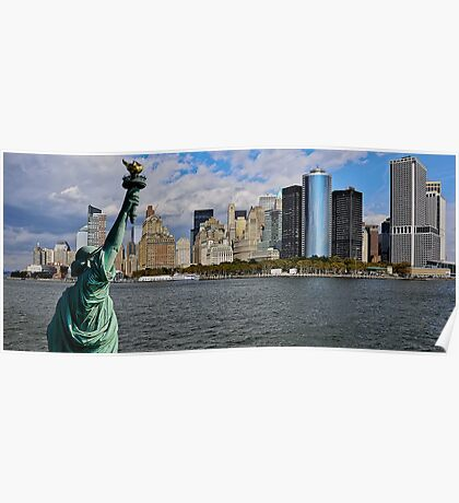 Liberty View Poster