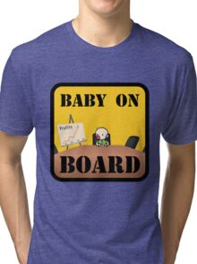Baby on (Corporate) Board Tri-blend T-Shirt