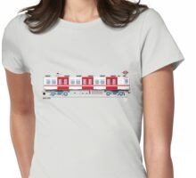 Metro Madrid - Serie 2000 Womens Fitted T-Shirt