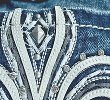 Bling Fashion Rhinestone Denim  by Andrea Hurley
