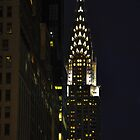 Chrysler Building at Night by brianhardy247