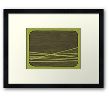 Abstract Drawing Framed Print