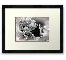 Claro de Luna Framed Print