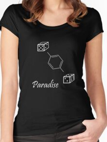 Chemistry Paradise Women's Fitted Scoop T-Shirt