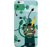 Green mind iPhone Case/Skin