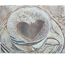 A Cup of Lovin' Photographic Print