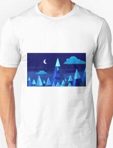 Ice Kindom (Night) Unisex T-Shirt