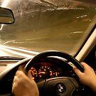 Night Drive Peebles by photobymdavey