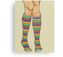 Quirky Socks Canvas Print