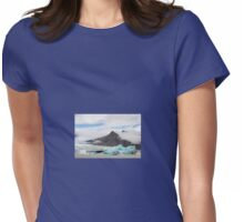 Fjallsarlon glacial lake, Iceland Womens Fitted T-Shirt