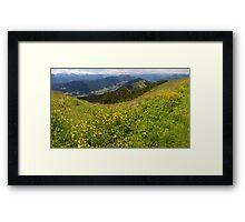 Carinthian Mountains Framed Print
