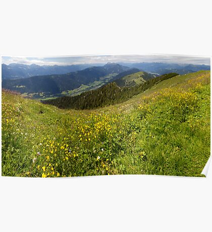 Carinthian Mountains Poster