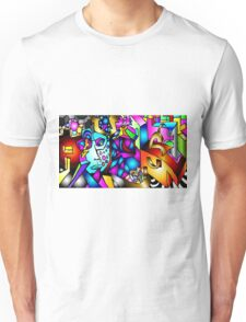 Masked Reality Unisex T-Shirt