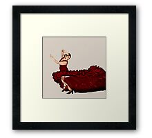Flamenco Fire Framed Print