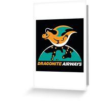 Dragon Airways Greeting Card