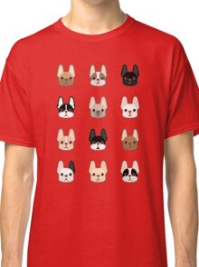 Frenchies Family  Classic T-Shirt