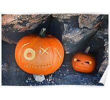 Cave Pumpkins  Poster