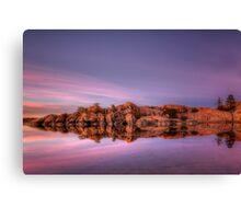 Approaching Dusk-Wide Canvas Print