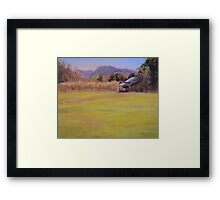 Orchard View Framed Print
