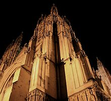 Canterbury Cathedral - Spires by rsangsterkelly