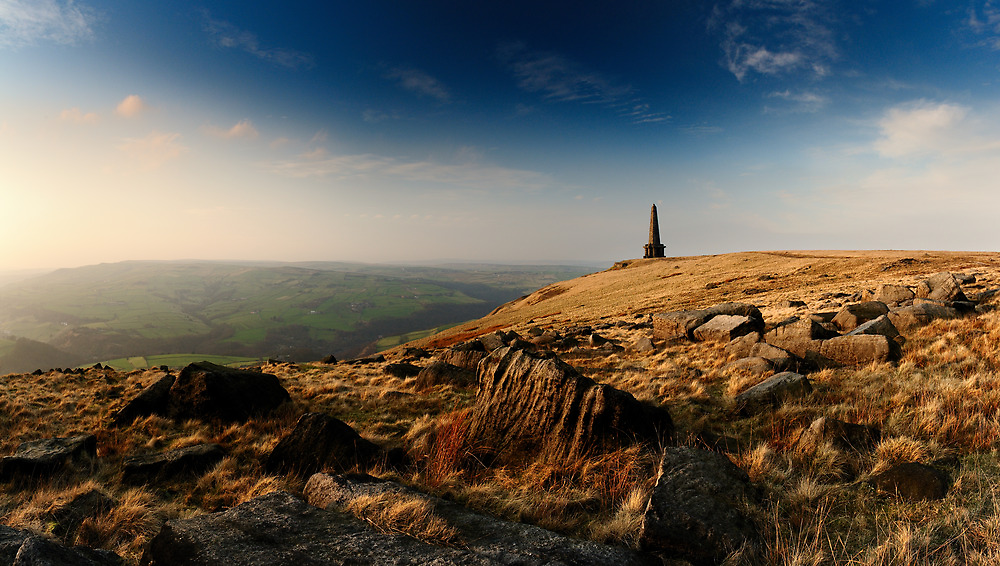 Stoodley Pike Panorama by Simon Bowen