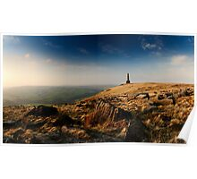 Stoodley Pike Panorama Poster