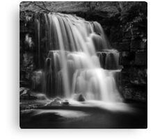 East Gill Force (Black & White) Canvas Print