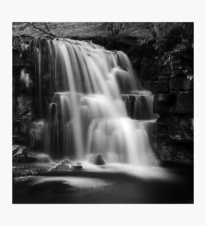 East Gill Force (Black & White) Photographic Print