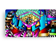 Puzzle With-In Canvas Print
