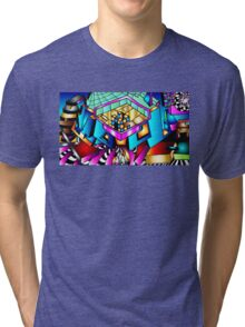 Puzzle With-In Tri-blend T-Shirt