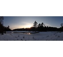 O'Hara Mills Conservation Area - Sunset Photographic Print