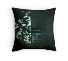 Pinhole Tower Throw Pillow
