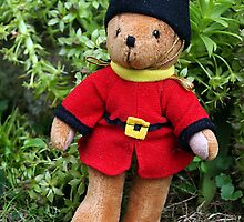 Grenadier Guard Teddy by Bev Pascoe