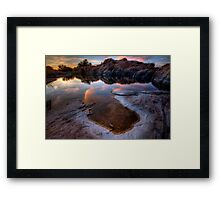 Evaporate Framed Print
