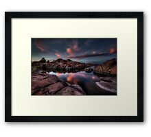 Whispers of Pink Framed Print